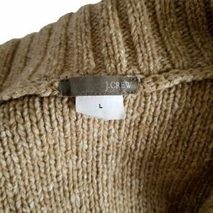 J. Crew Sweaters - J Crew Tan Button Up Sweater